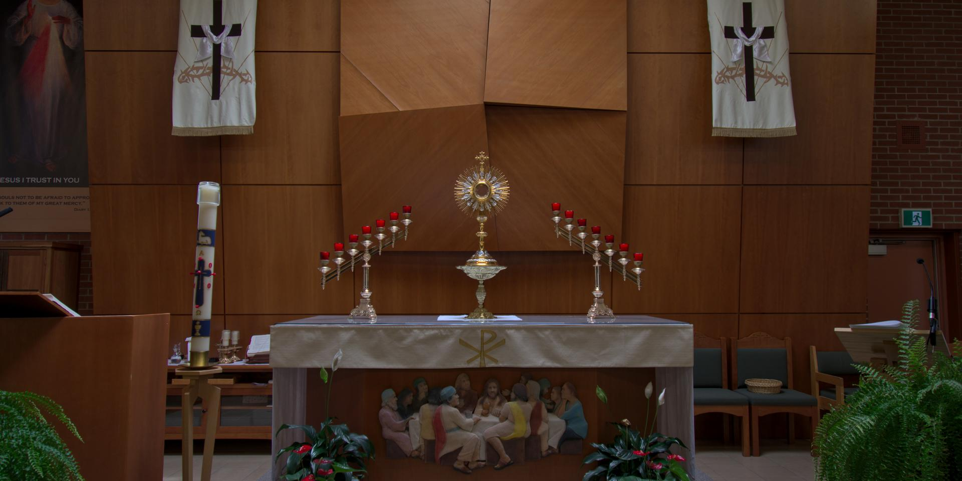 Liturgical Ministries Header Image